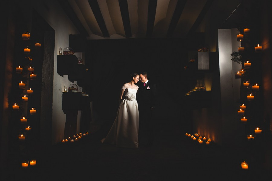 Juanma y Celia casados